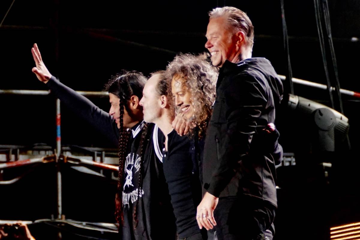 Фото: ScandiNews / Хельсинки/ Sonisphere Festival 2014 / Metallica