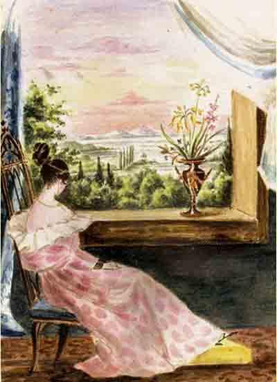 А.Маннергейм. Аврора Шернваль.1830
