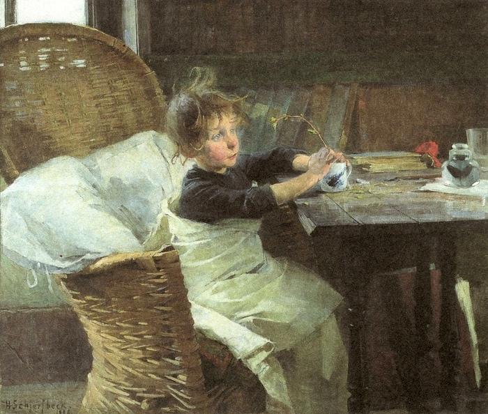 «Выздоравливающий» (1887)