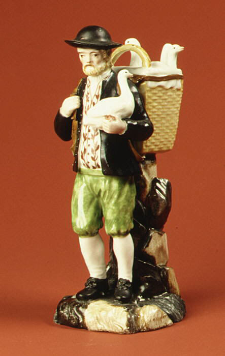 Продавец гусей. Фарфор. 1780 г. Копенгаген. Дания