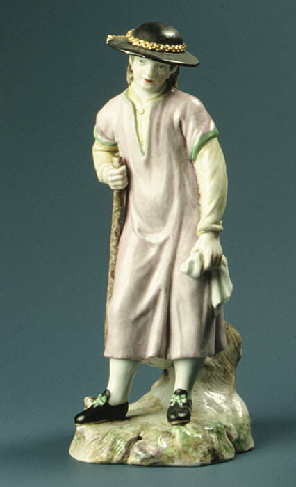 Норвежец. Жених из Фаное. Фарфор. 1780 г. Копенгаген. Дания