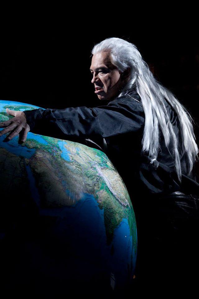 Фото: Павел Антонов / Хворостовский в роли Демона/ Concert Hall, 2015