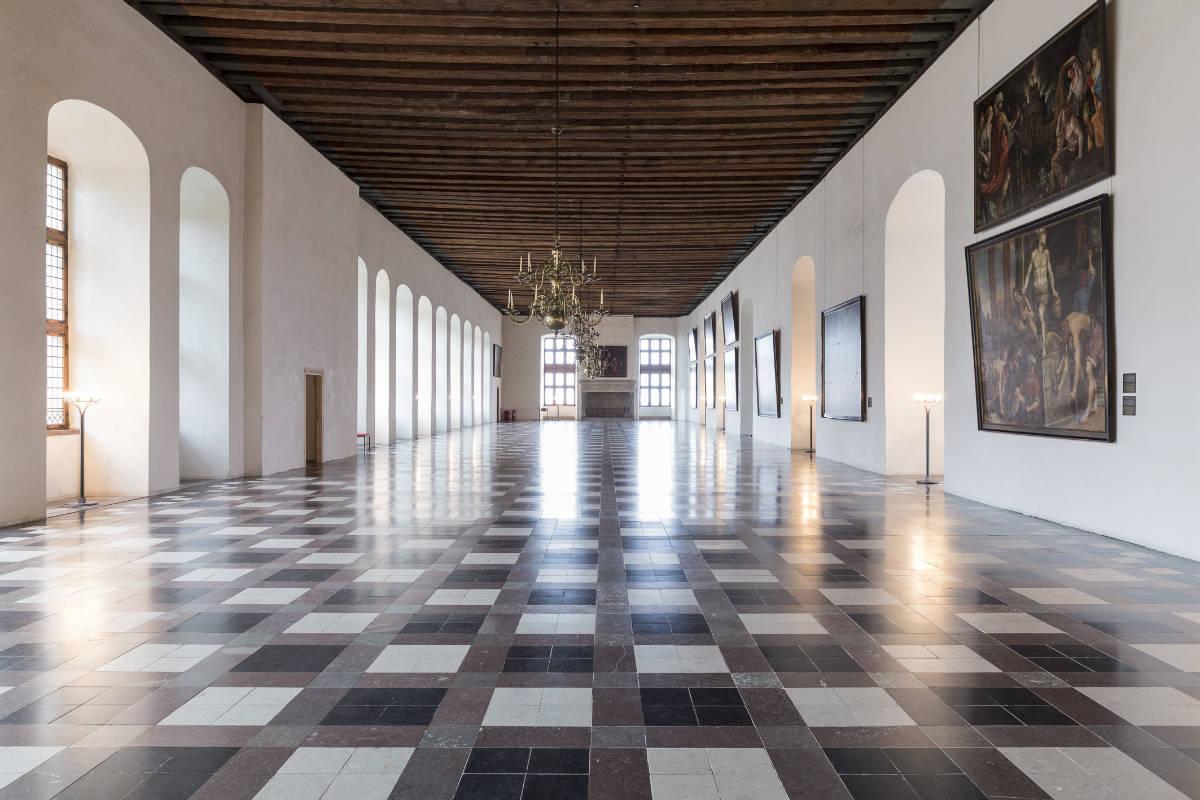 Фото: Lior Zilberstein/Танцевальный зал Эльсинора