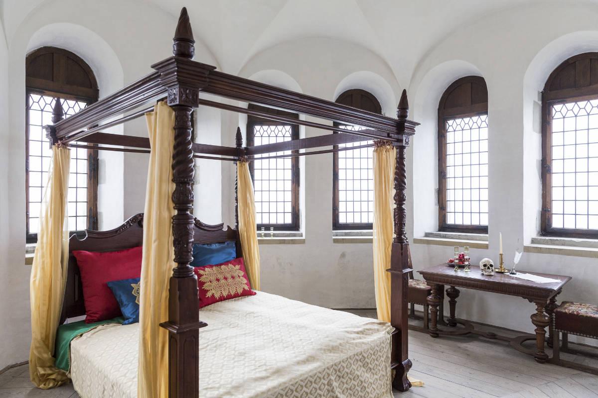 Фото: Лиор Зильберштейн/ Спальня в замке Кронборг