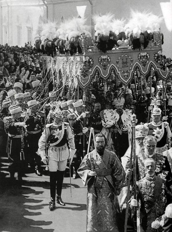 Финский музей фотографии / Маннергейм на коронации императора Николая II и императрицы Александры в Москве 26 мая 1896 г.