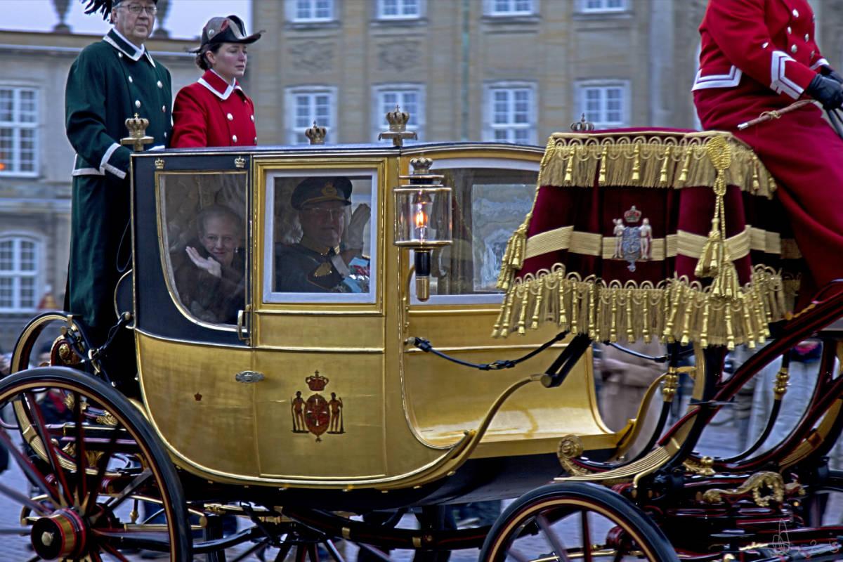 flickr/ Королева Дании Маргрете II и Принц Хенрик