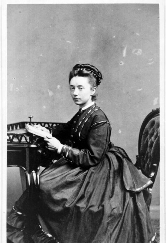 Bergen Public Library Norway / Nina Grieg portrait
