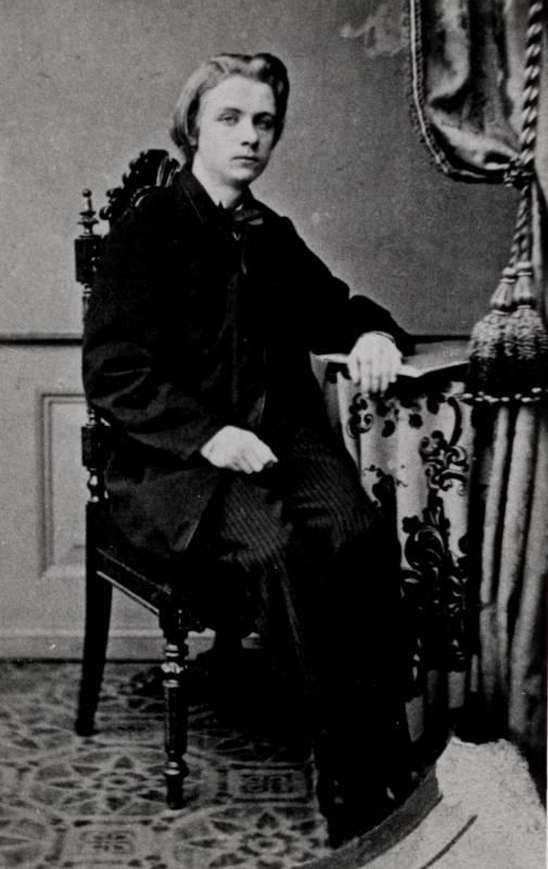 Bergen Public Library Norway / Marcus Selmer / 1858, Bergen/Norway / Edvard Grieg