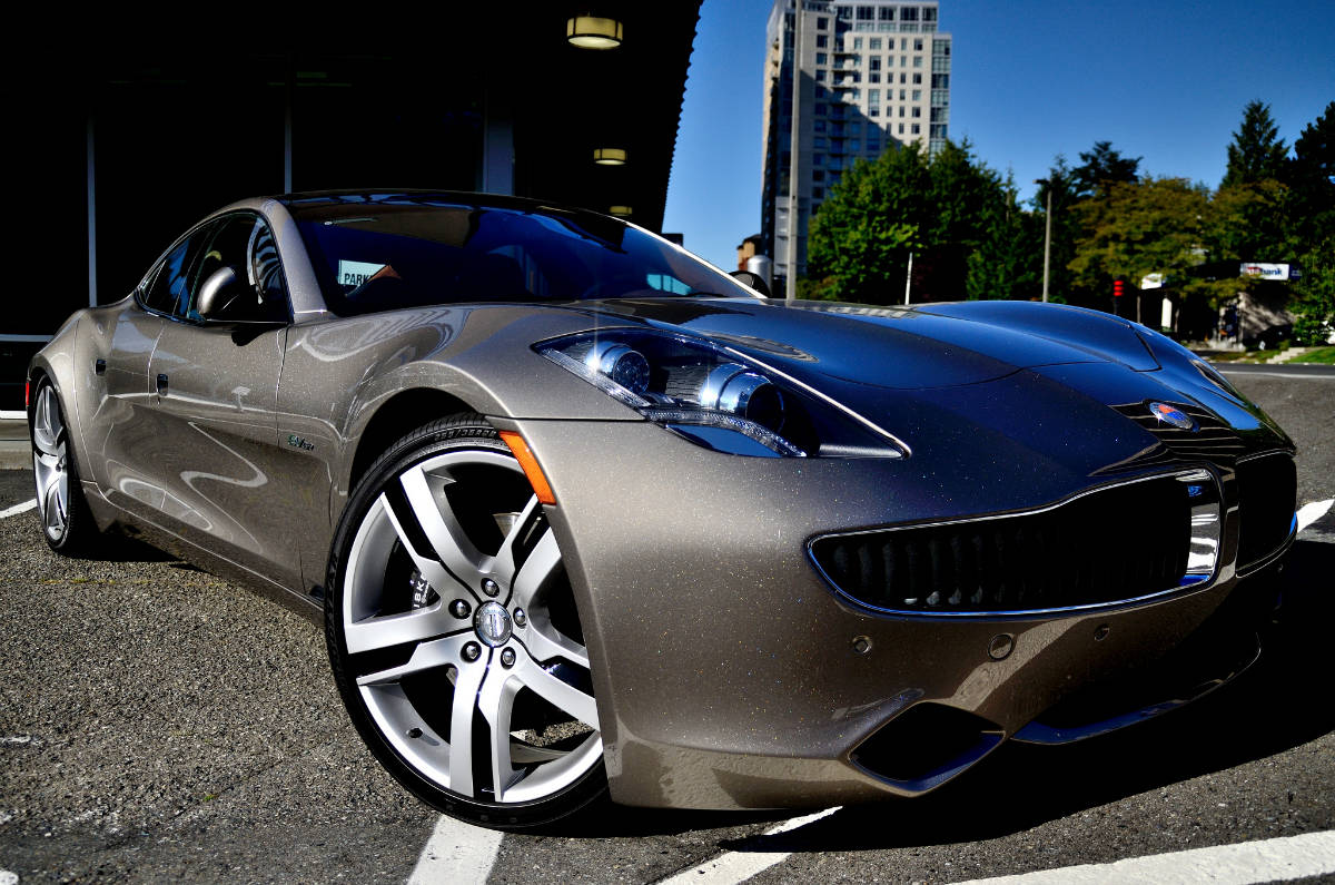 flikr/Paul B /  Electric Car Fisker Karma