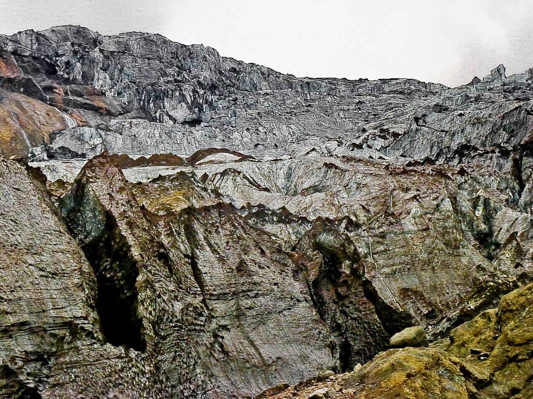 Вячеслав Титов/ Уснувший вулкан Исландии