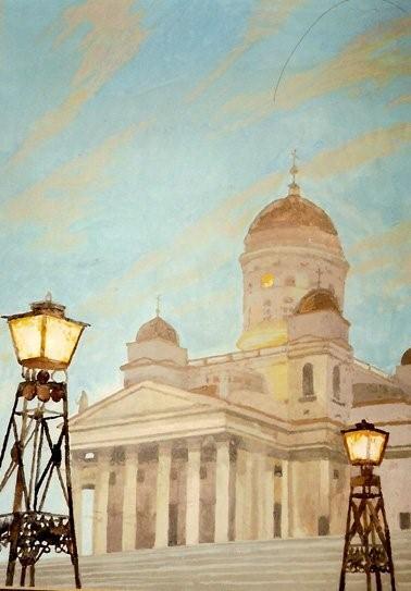 Мюд Мечев. Хельсинки. Начало белых ночей.