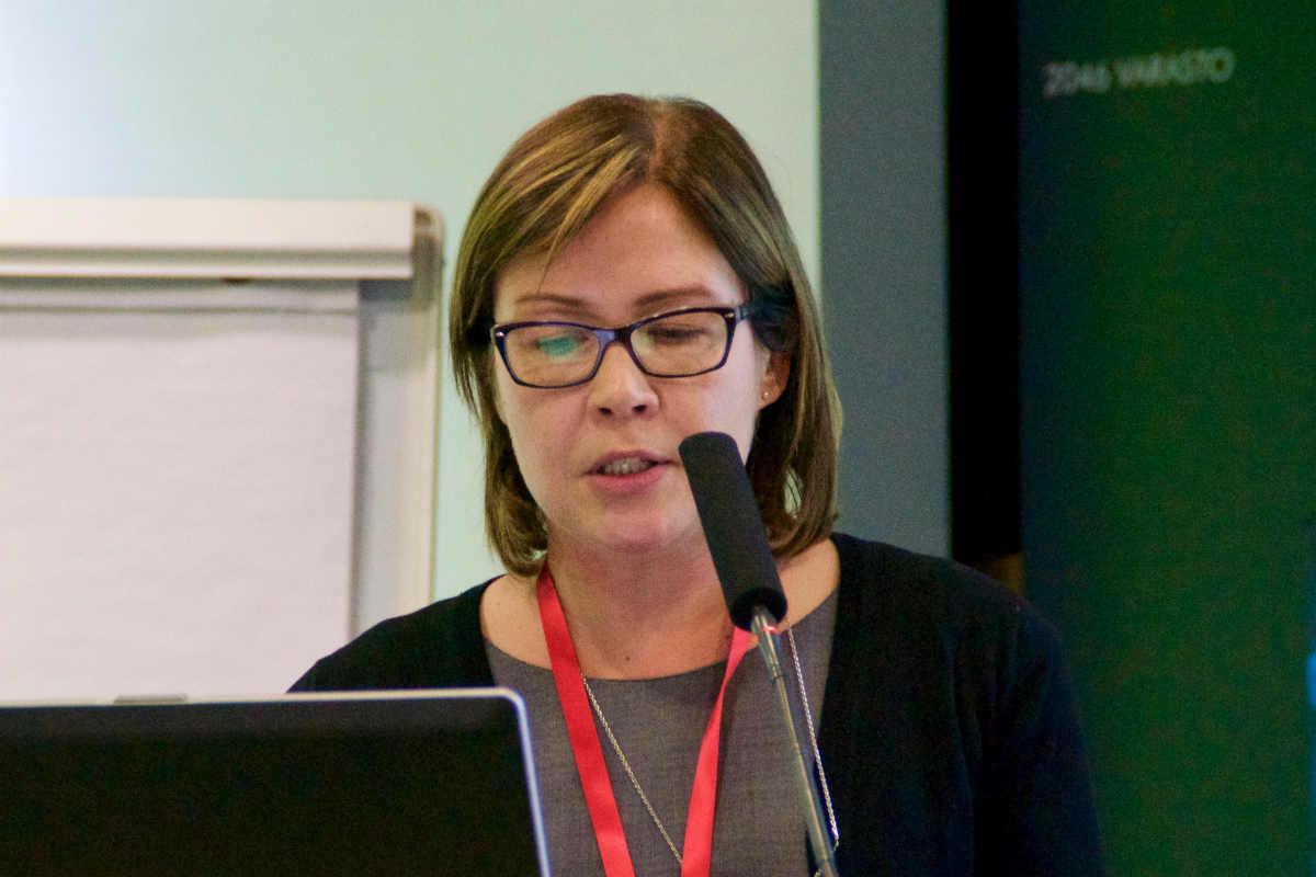 Анна Кииски,  исполнительный директор Центра морских исследований Котки, рассказала о финско-эстонском проекте «30 миль»