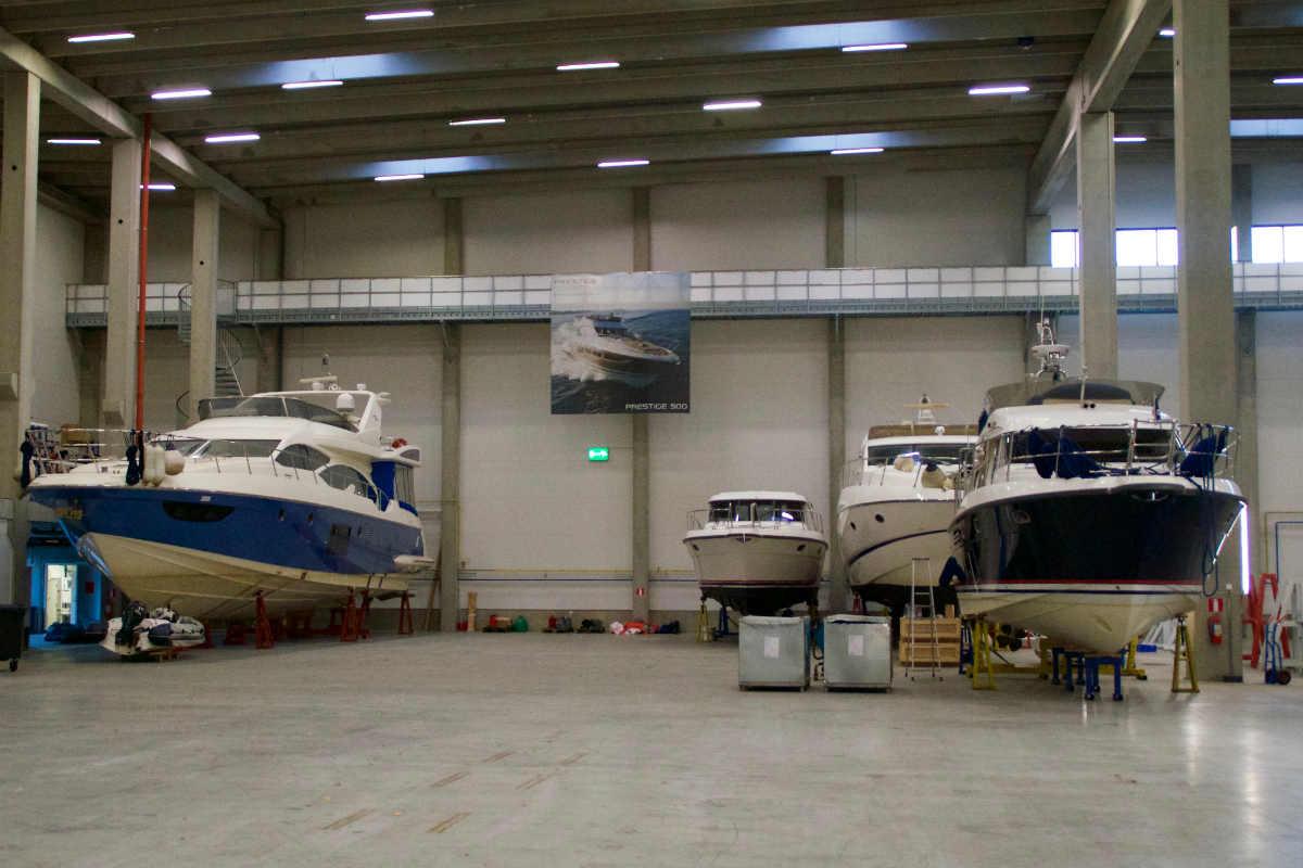Петербуржцы оставляют в Котке яхты на зимнее хранение