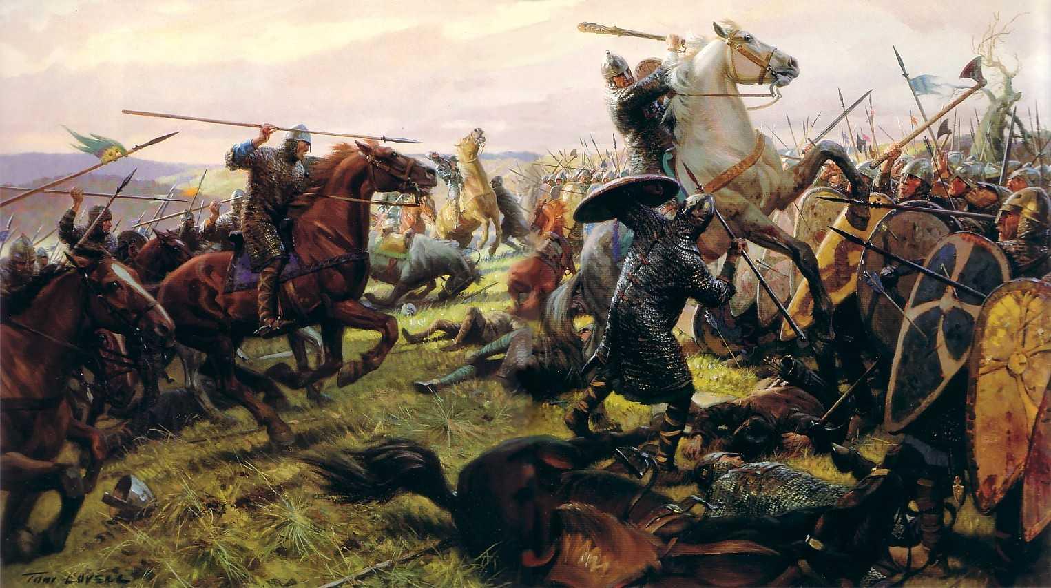 Том Лоувелл. Битва при Гастингсе 14 октября 1066 г.