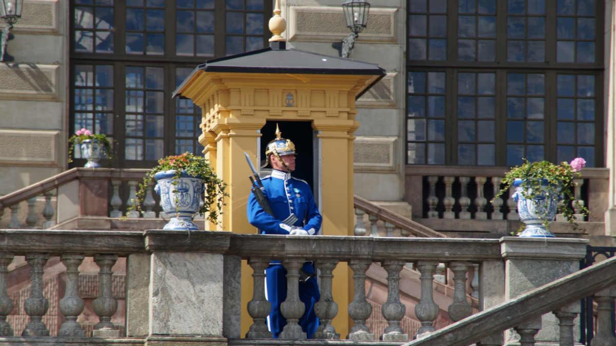 Фото: ScandiNews. Королевский дворец в Стокгольме