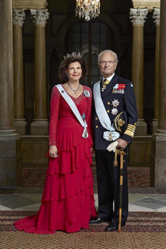 Петер Нутсон/ Король Карл XVI Густав и Ее Величество Королева Сильвия