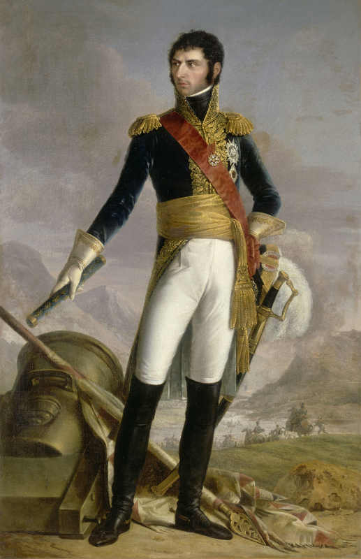 François Kinson. Jean Baptiste Bernadotte, Marshal of France, King of Sweden and Norway, 1818. Château de Versailles