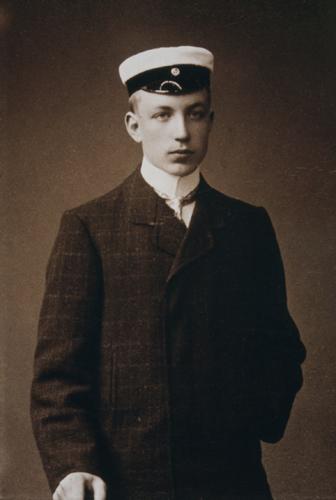 Фото: Otava. Ристо Рюти студент 1906