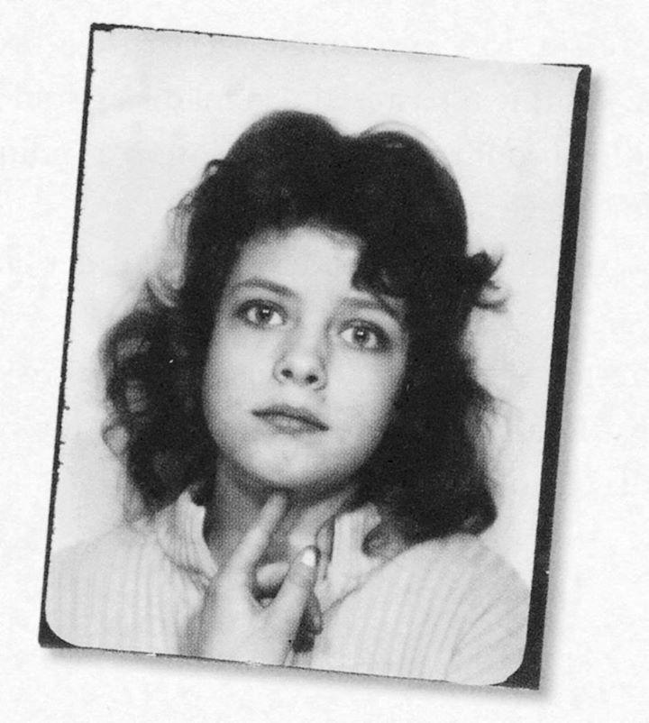 Сара Льюнкранц в 14 лет