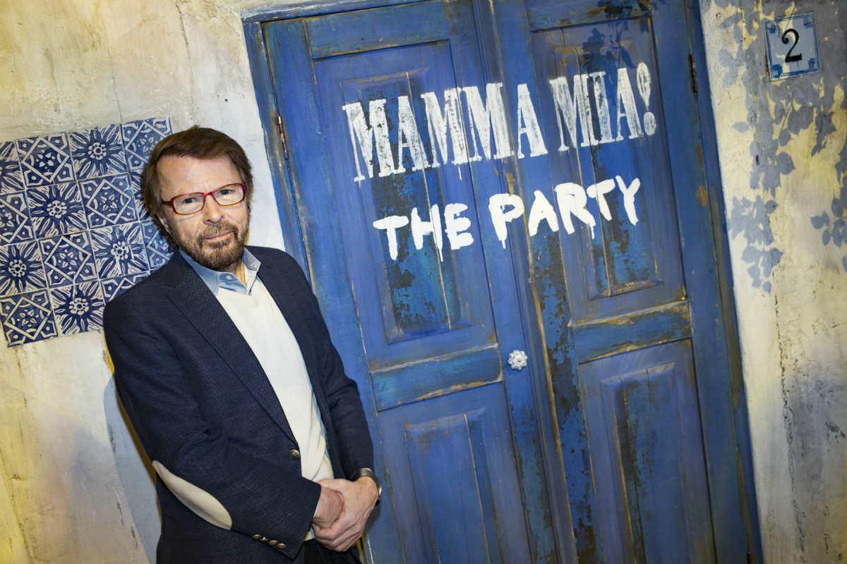 mammamiatheparty.com Бьорн Ульвеус приглашает на Mamma Mia! The Party.