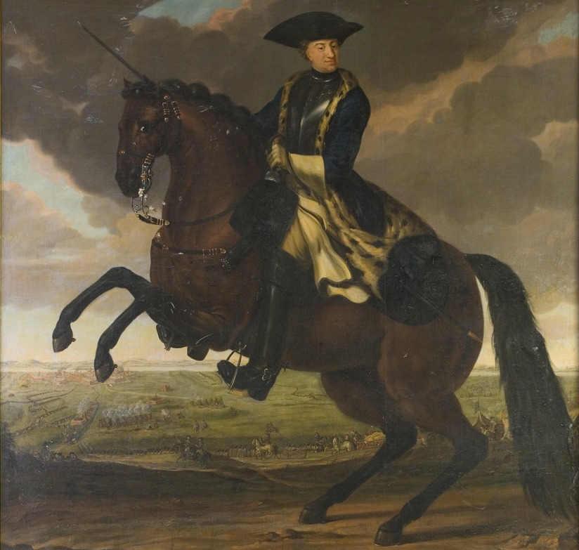 Национальный музей Швеции. Общественное достояние. Картина Андерса Иоханссона фон Кёльн. Король Карл XII 1682-1718