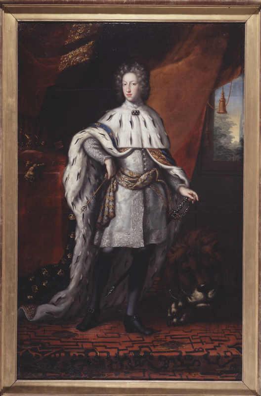 Национальный музей Швеции. Общественное достояние. Картина Давида Клёкера Эренстрахла. Карл XII