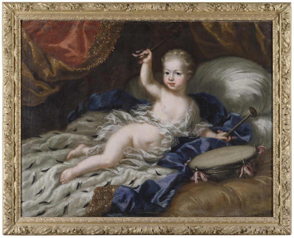 Национальный музей Швеции. Общественное достояние. Картина Давида Клёкера Эренстрахла. Карл XII, ребенок
