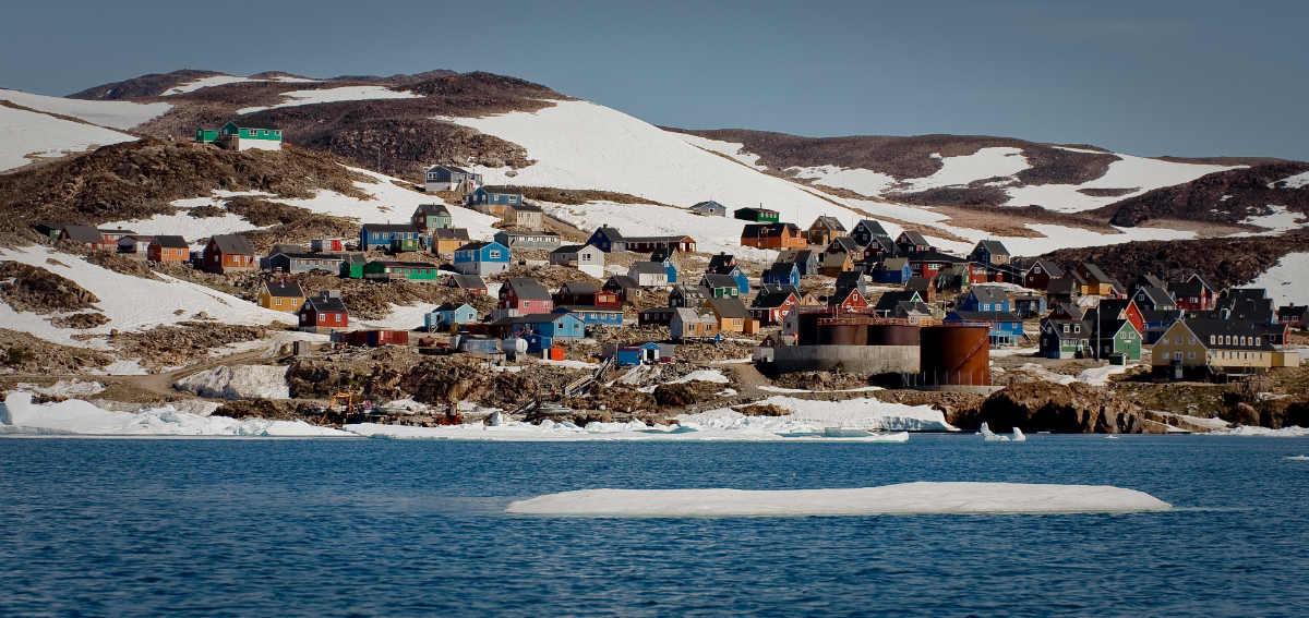 Фото: Вячеслав Титов / Гренландия / Современное поселение эскимосов