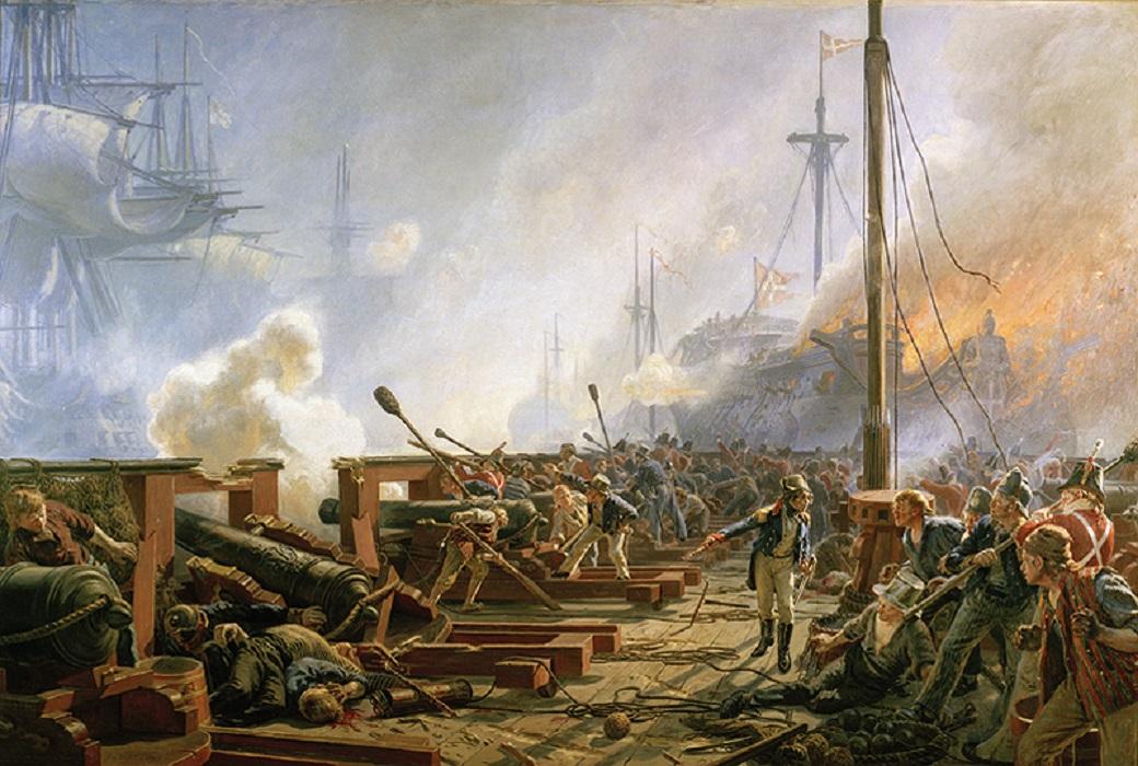 Кристиан Фердинанд Андреас Мёльстед/ Битва при Копенгагене 1801