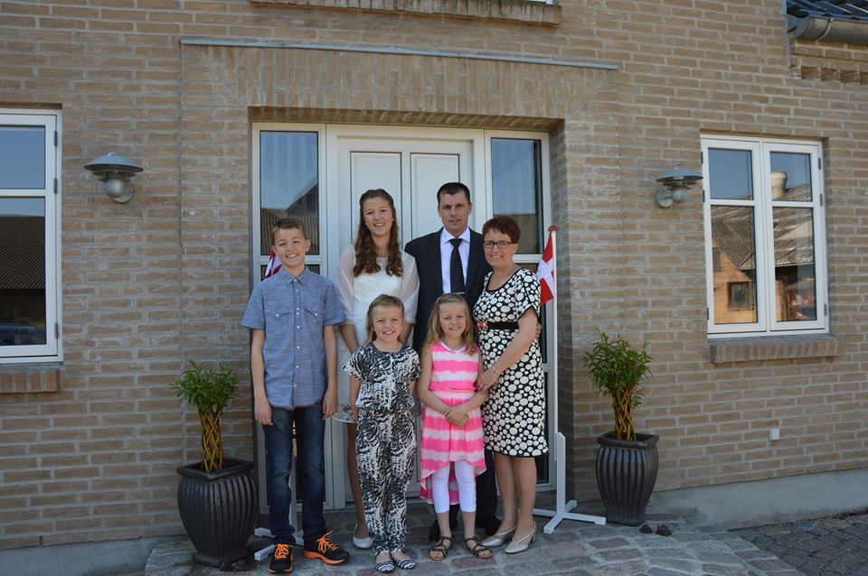 facebook.com/klaus.kristiansen/ Семья Кристиансен