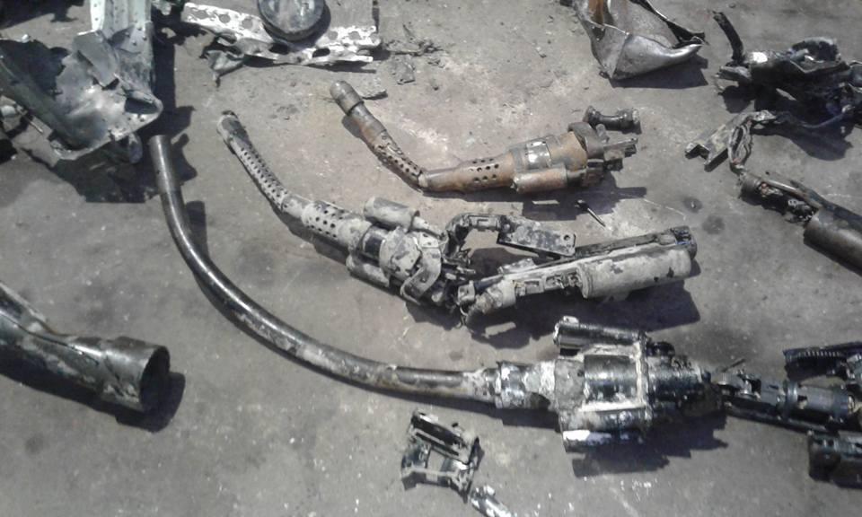 facebook.com/klaus.kristiansen/ Обломки найденного самолета