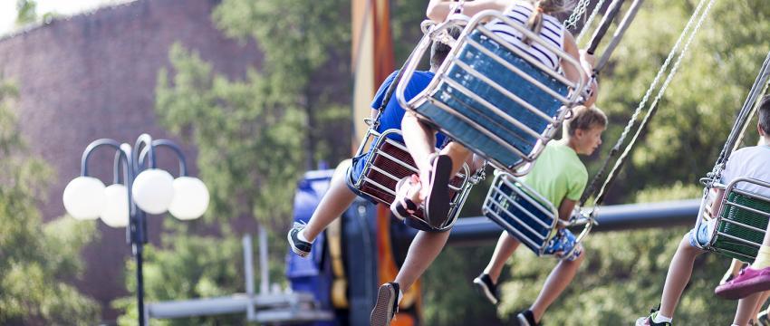 Фото: Андрей и Александра Сузи/ Парк Линнанмяки в Хельсинки