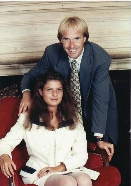 Ричард Клайдерман с Аделиной Сенневиль