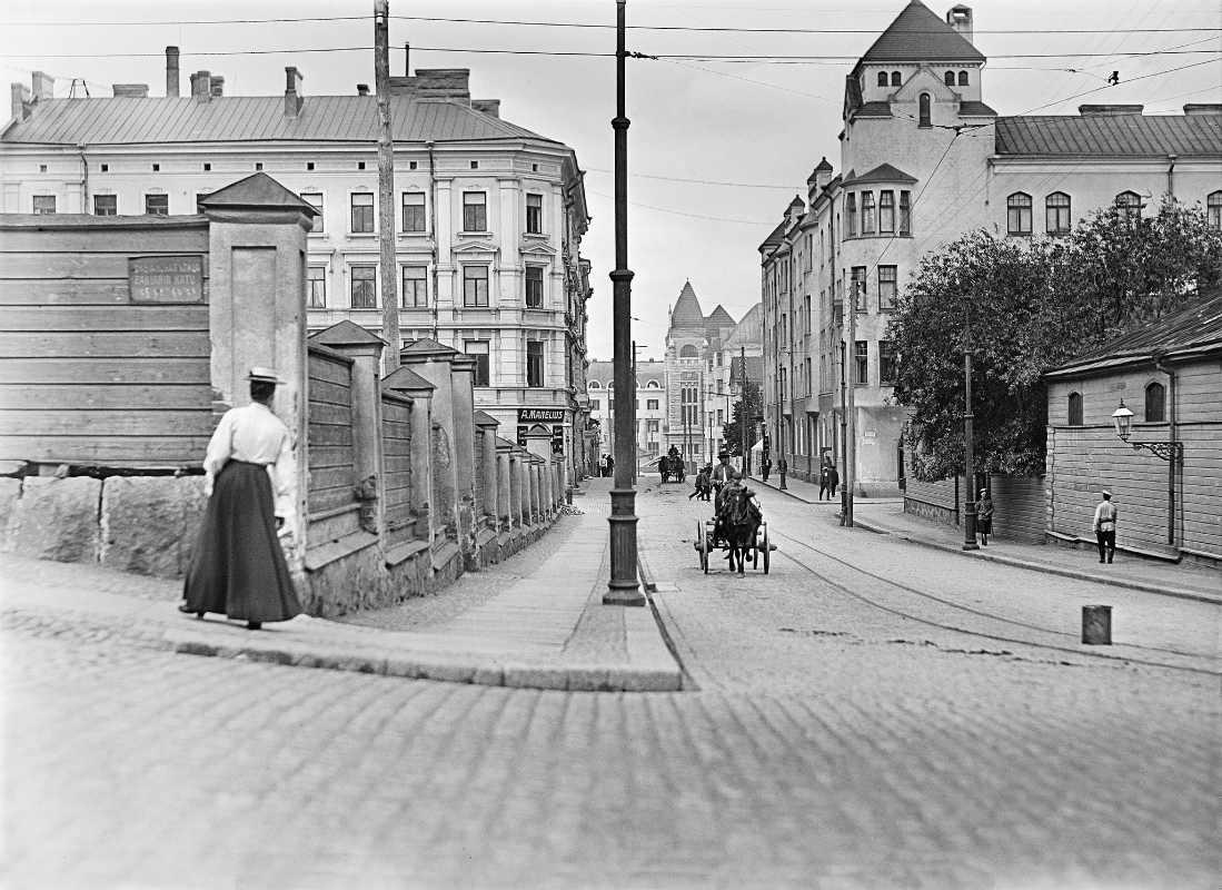 Фото: Финский музей фотографии / Фотограф И.К.Инха. Хельсинки 1908 год