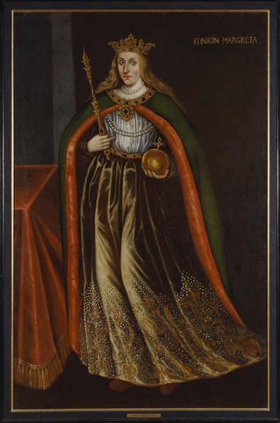 Национальный музей Швеции. Стокгольм / Неизвестный автор. Королева Маргрета I (1353-1412)