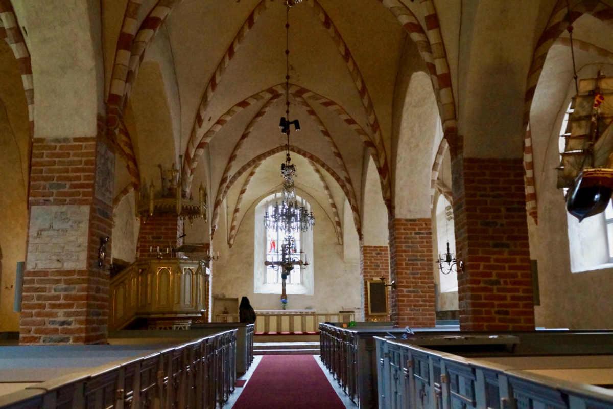 ScandiNews/ Церковь в Нагу на Архипелаге Турку