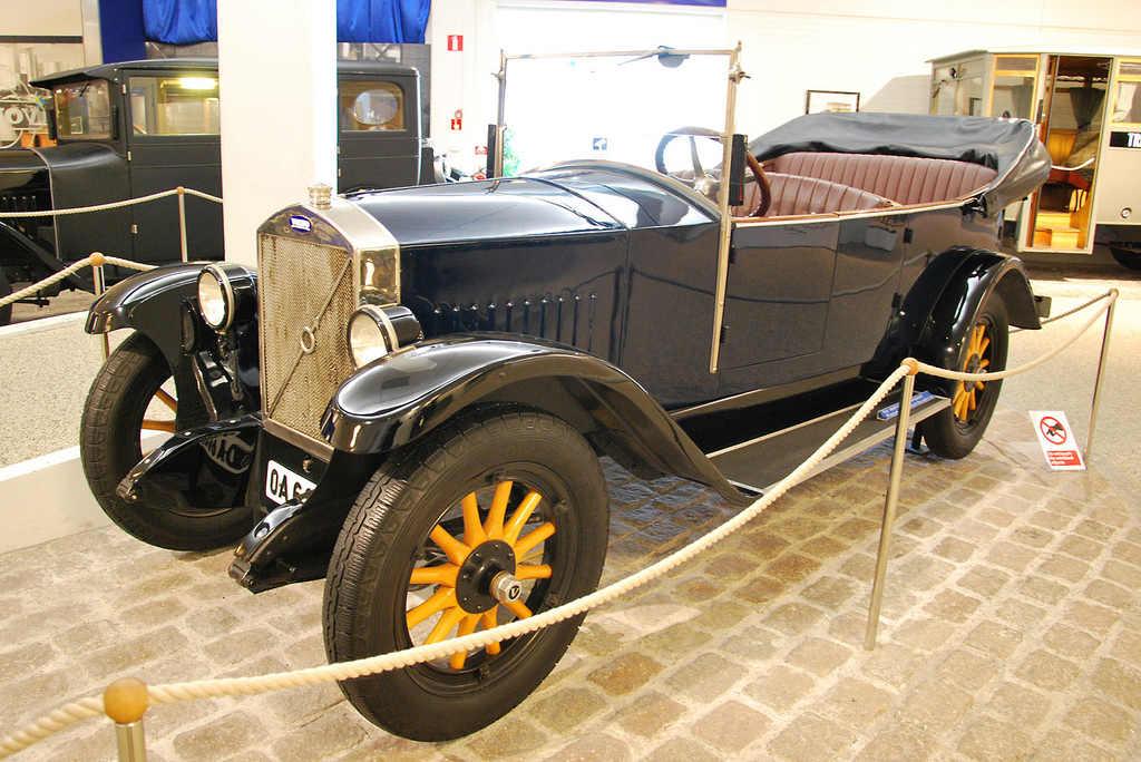 Фото: Андреас Нильсен. Volvo ÖV 4 Jakob. 1927/ Volvo-Музей, Гётеборг