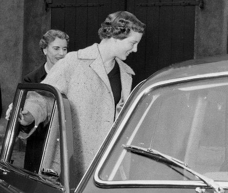 Фото: volvoamazonpictures.se / Датская принцесса Маргретте. 16 апреля 1958 года