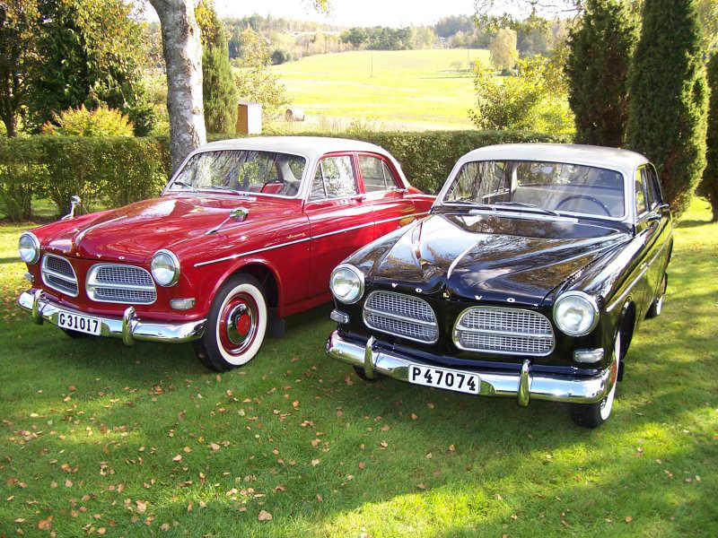 Photo:  Kurt Gustavsson/ Volvo Amazon 1957 P1200V Black/Greybeige roof