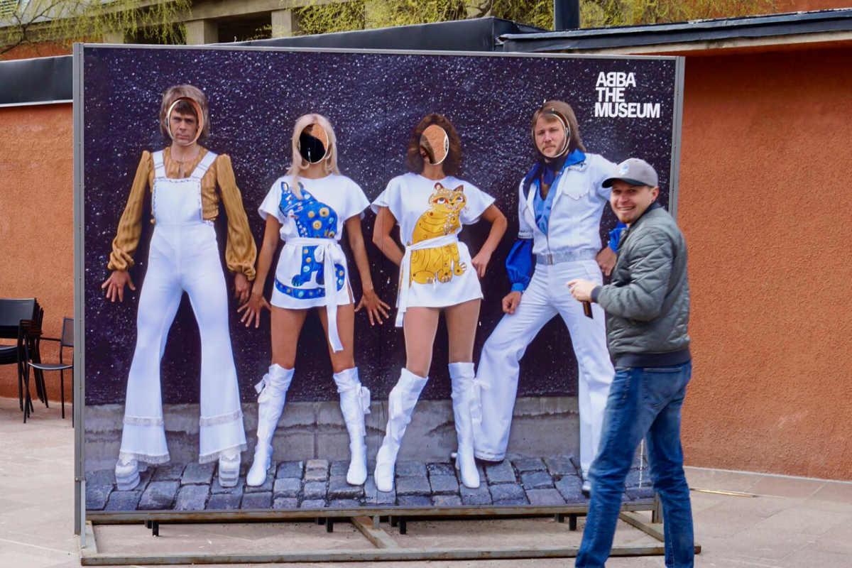 Фото: ScandiNews/ Стокгольм. У музея «ABBA»