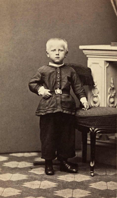 Фото: National Library of Norway/ Фритьоф Нансен в 4 года