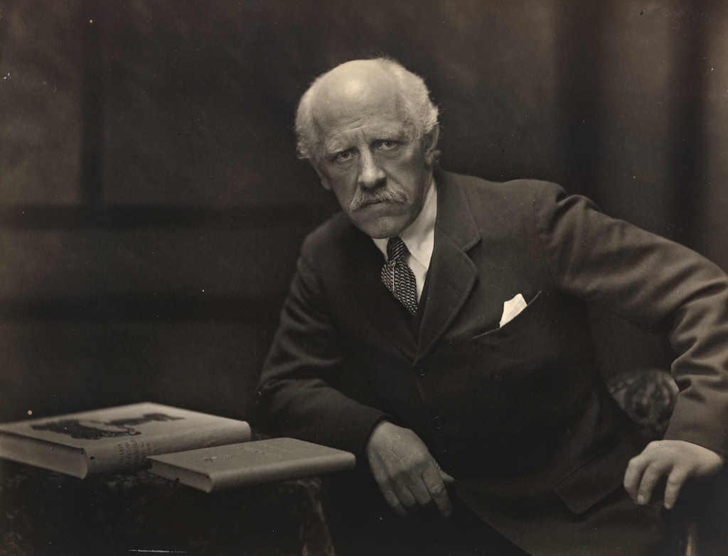 Фото: Anders Beer Wilse / Портрет Ф.Нансена 1922 г.