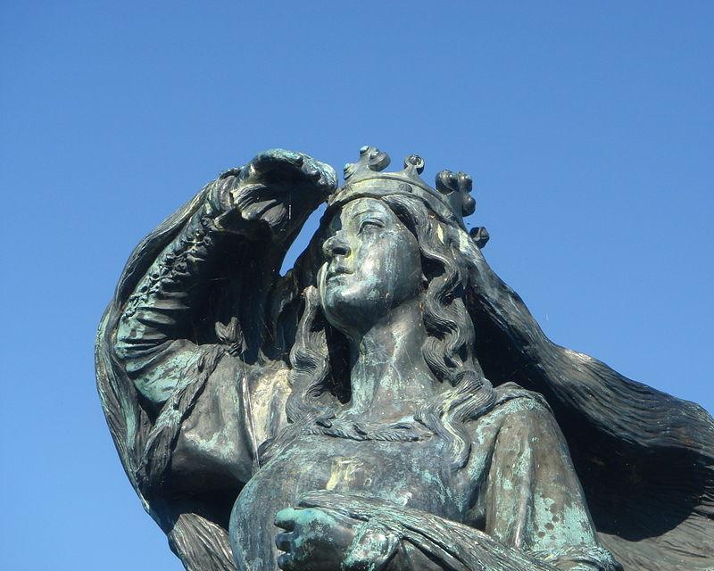 Памятник королеве Дагмар в Рибе