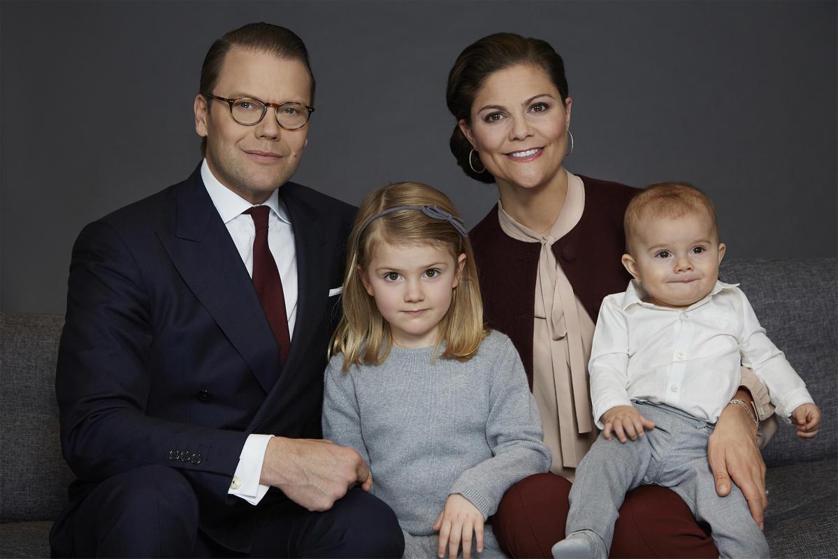 Фото: Anna Lena Ahlström/ Kungahuset.se/ Семья Кропринцессы Виктории