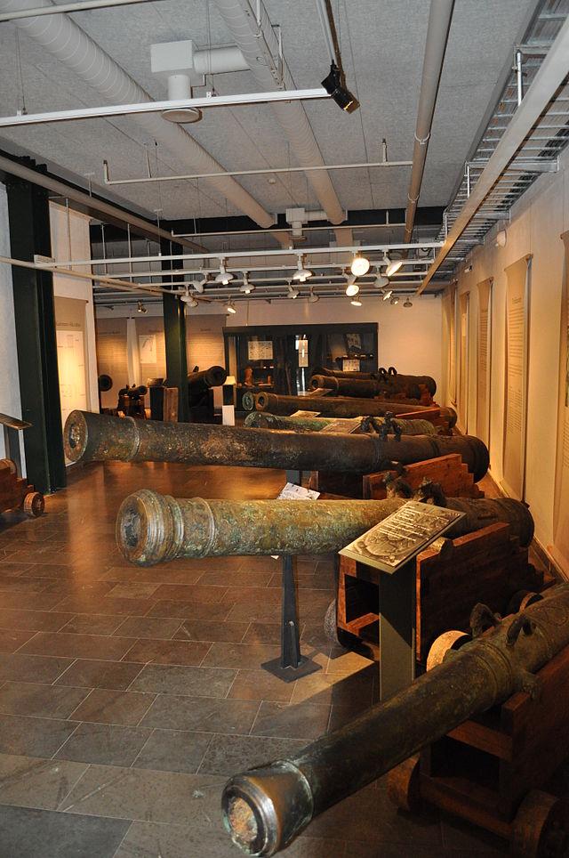 Пушки с «Крунана» хранятся в Кальмарском историческом Музее