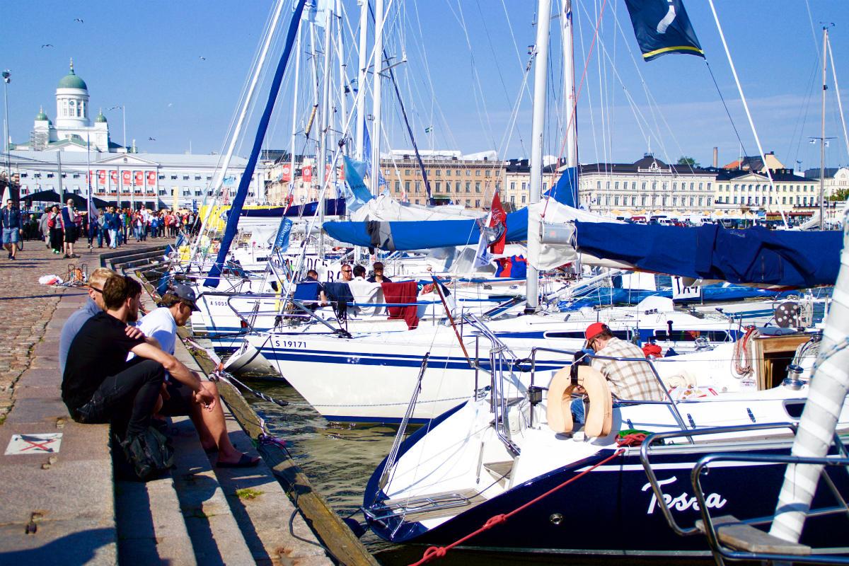Фото: ScandiNews / Яхтинг в Хельсинки. Финляндия