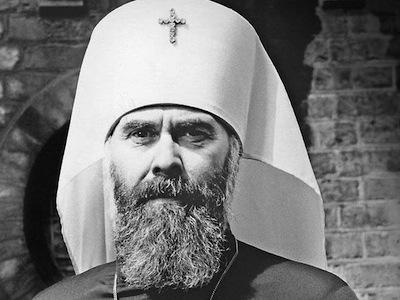 Митрополит Антоний Сурожский, глава российского православного собора в Лондоне с 1953 по 2003 года