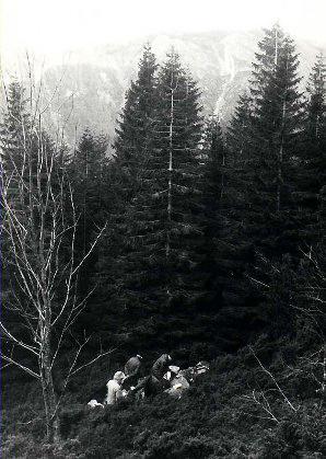 Вышедшая на прогулку семья наткнулась на обгоревшее тело обнаженной женщины 29 ноября 1970 года