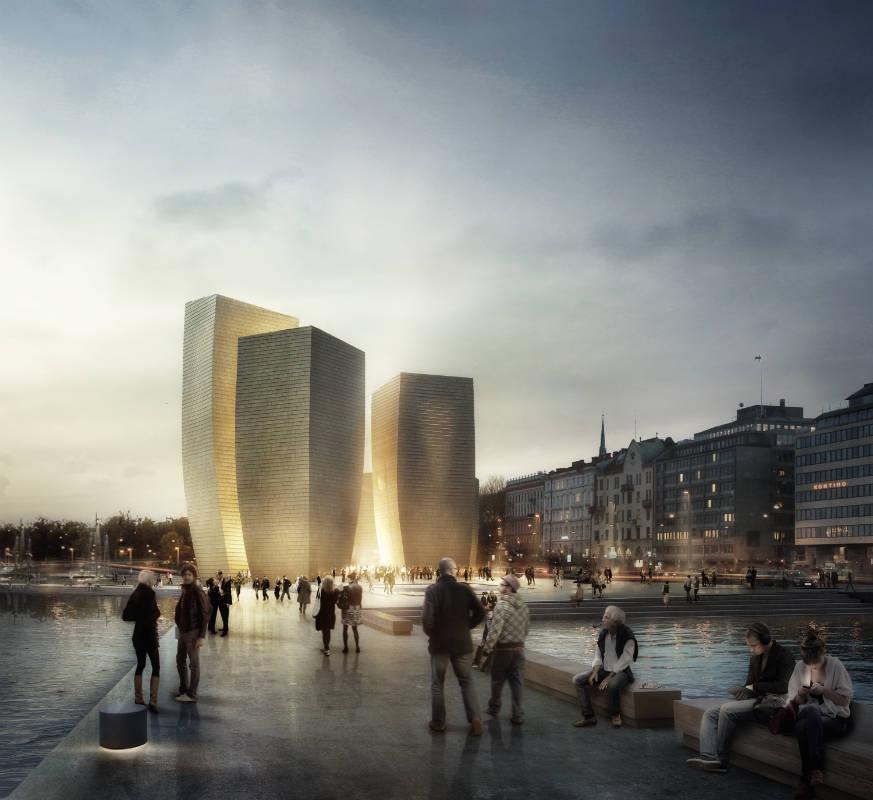 <b>Один из проектов музея Гуггенхайма в центре Хельсинки</b>