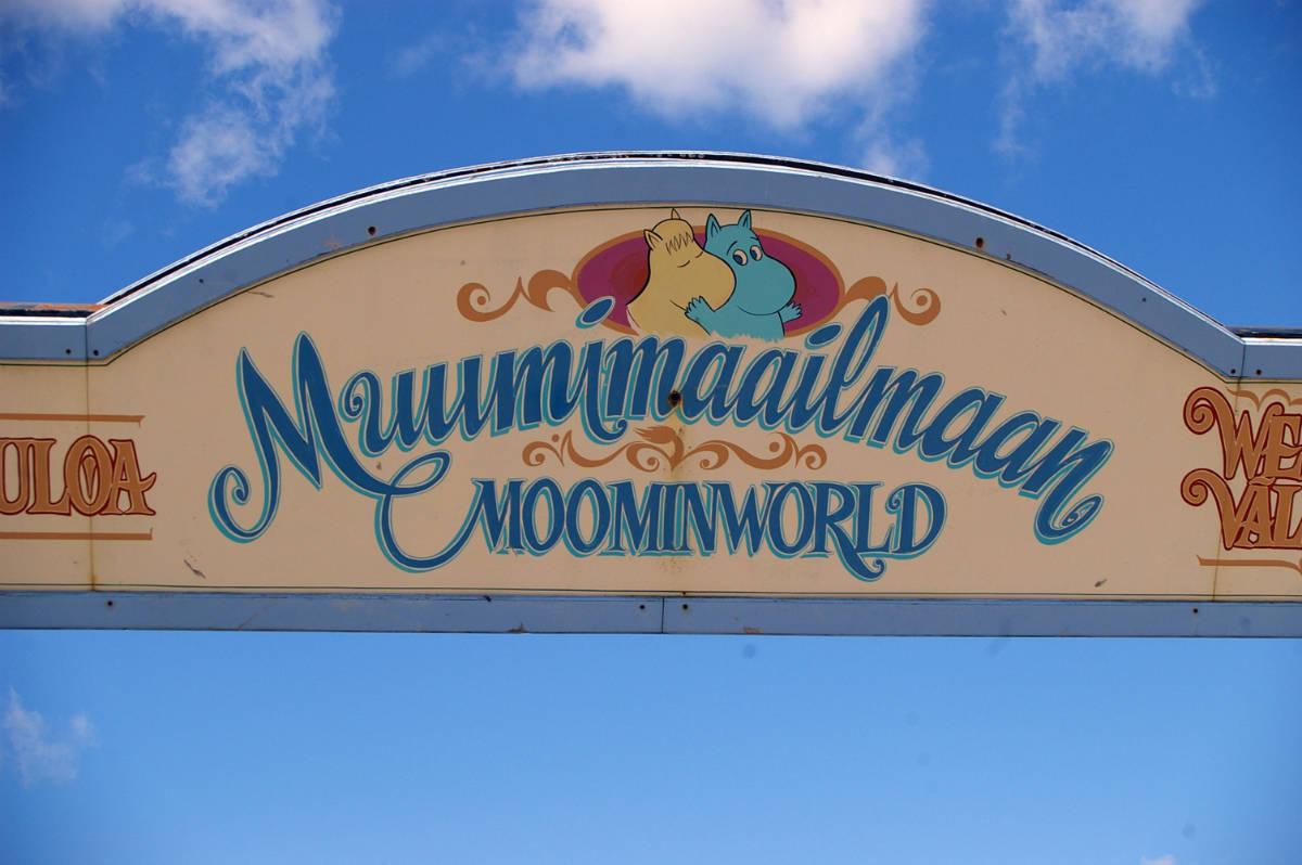 flikr / Pippa Buchanan / Moomin World